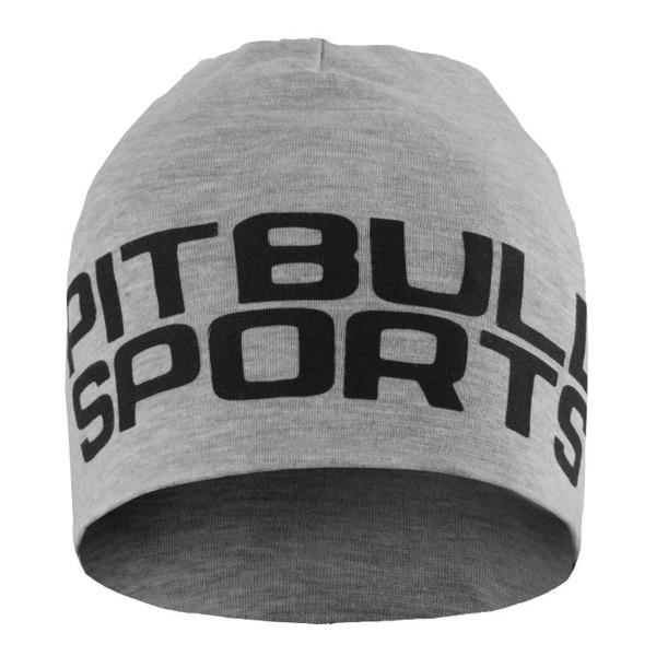 Czapka Pit Bull Beanie SPORTS Szara