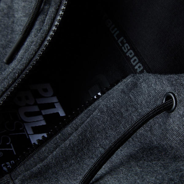 Pit Bull Bluza rozpinana z kapturem LANDIS Grafit