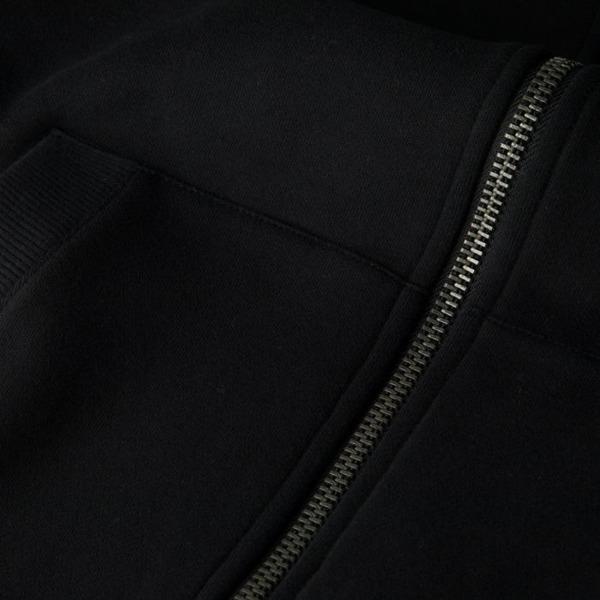 Pit Bull Bluza rozpinana z kapturem SMALL LOGO Czarna