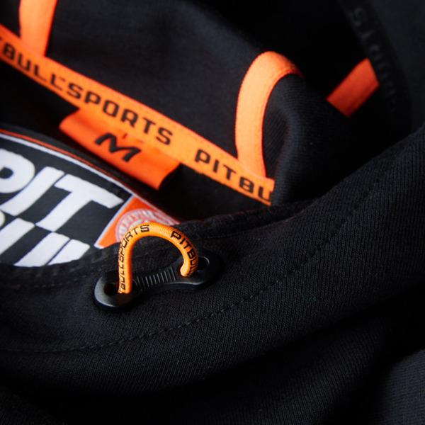 Pit Bull Bluza z kapturem LOGAN 2 COLORS Grafitowa