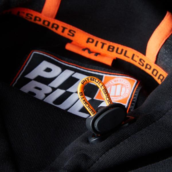 Pit Bull Bluza z kapturem RAVEN Czarna