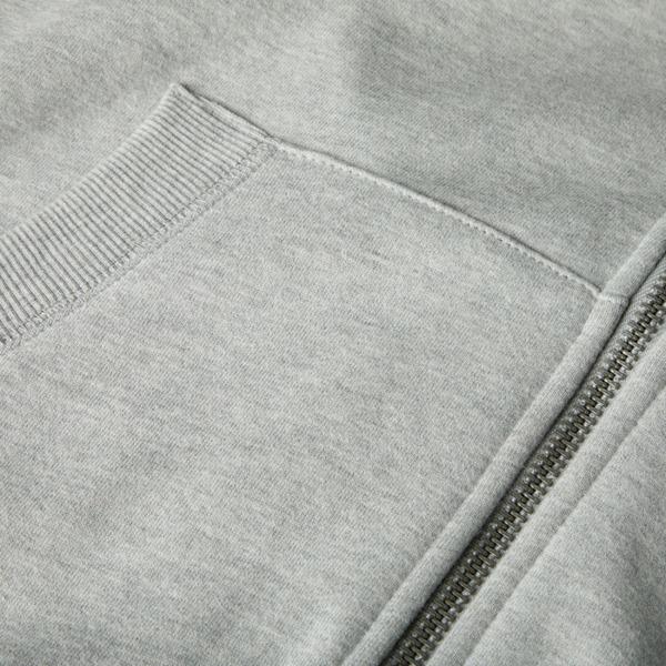 Pit Bull Bluza z kapturem rozpinana SMALL LOGO Szara