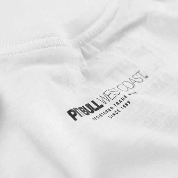 Pit Bull Koszulka CLASSIC BOXING Biała