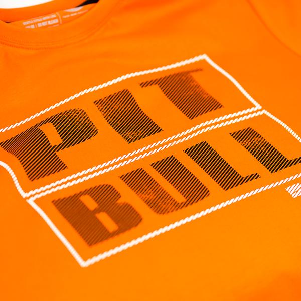 Pit Bull Koszulka EUCLID Pomarańczowa