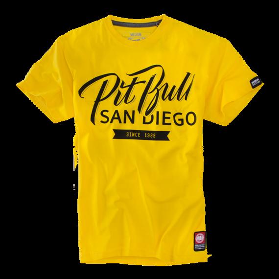 Pit Bull Koszulka El Jefe Żółta