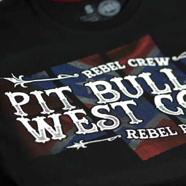 Pit Bull Koszulka REBEL CREW 17 Czarna