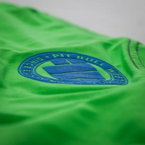 Pit Bull Koszulka Raster Logo Zielona