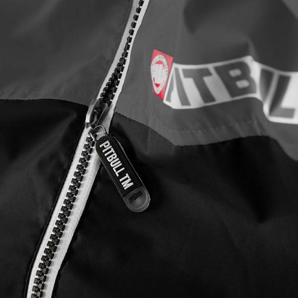 Pit Bull Kurtka przeciwdeszczowa HOMELANDS II Czarno-Szara