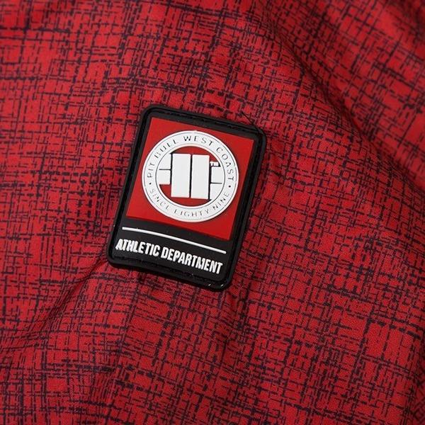 Pit Bull Kurtka przeciwdeszczowa HURRICANE 2 Czerwona