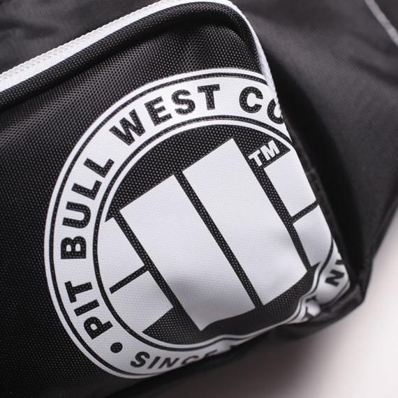 Pit Bull Saszetka Nerka Logo Biała