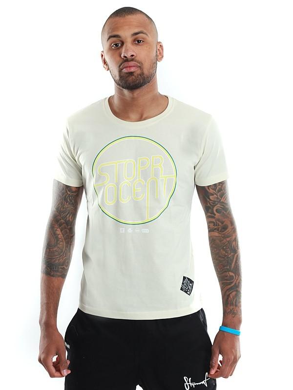 Stoprocent Koszulka Neon Biała