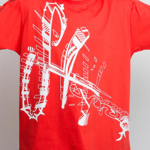 Stoprocent Koszulka Seultag Czerwona