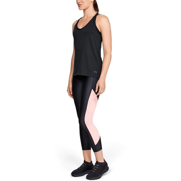 Under Armour Koszulka SOLID FASHION TANK Czarna