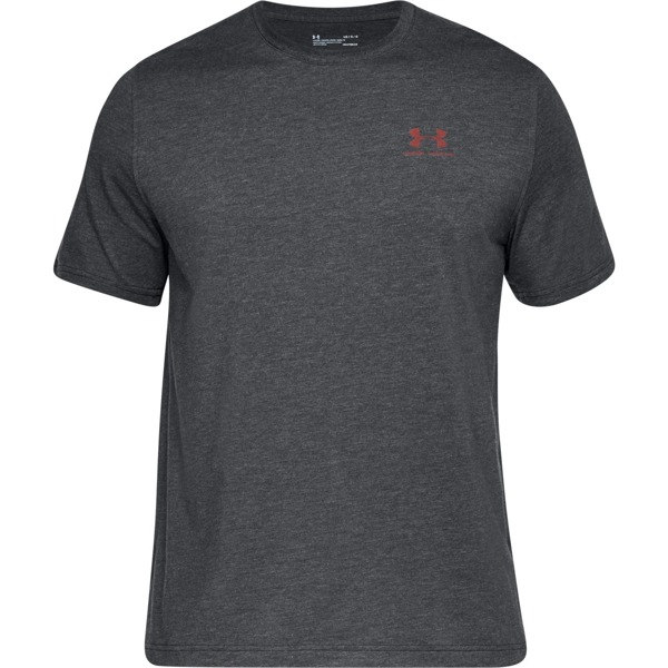Under Armour Koszulka CHEST LOCKUP Szara